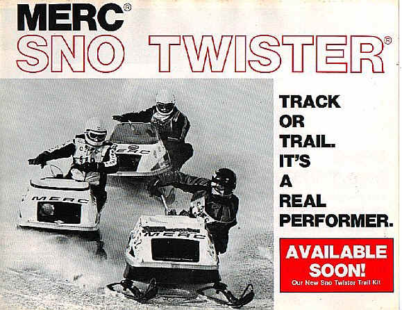 1975 Sno-Twister Brochure Page 1